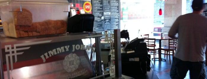 Jimmy John's is one of Orte, die Lindsey gefallen.