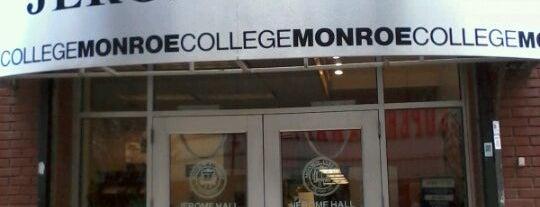 Monroe College is one of Lugares favoritos de Sofia.