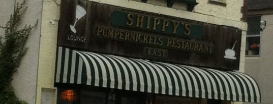 Shippy's Pumpernickels East Restaurant is one of Locais salvos de Mary.