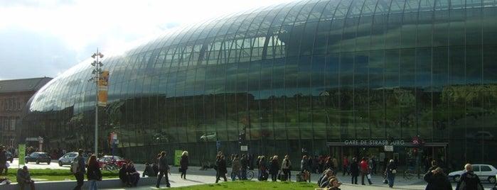 Estación de Estrasburgo is one of Bienvenue en France !.