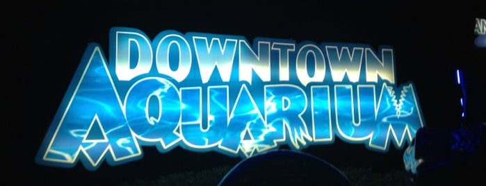 Downtown Aquarium is one of Houston.