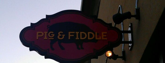 Pig & Fiddle is one of Fav restaurants.