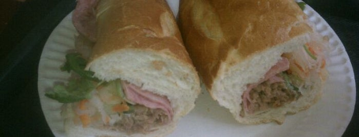 Ninh's Vietnamese Sandwich & Bubble Tea is one of Must-Visit Eats/Drinks in NYC.