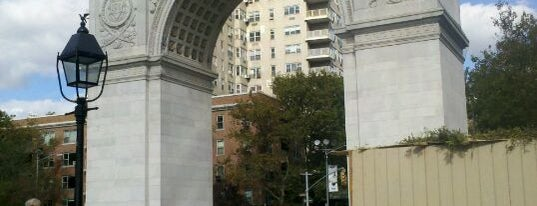 Washington Square Park is one of New York City.