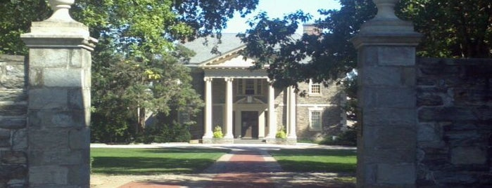 Haverford College is one of Historic America.