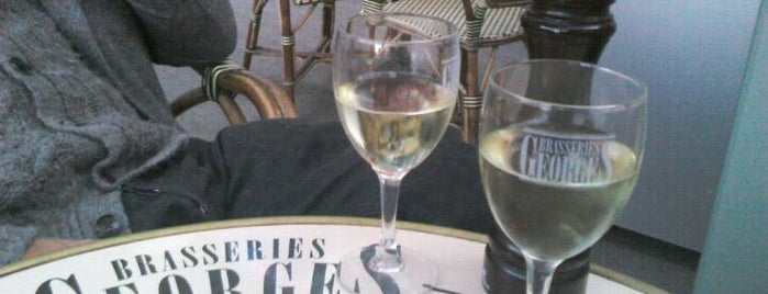 Les Brasseries Georges is one of Uccle best spots.