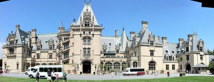 The Biltmore Estate is one of Road Trip!.