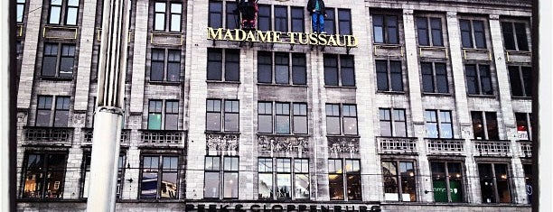 Madame Tussauds is one of Museums in Amsterdam.