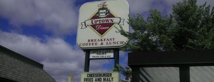 Uptown Diner is one of Minneapolis.