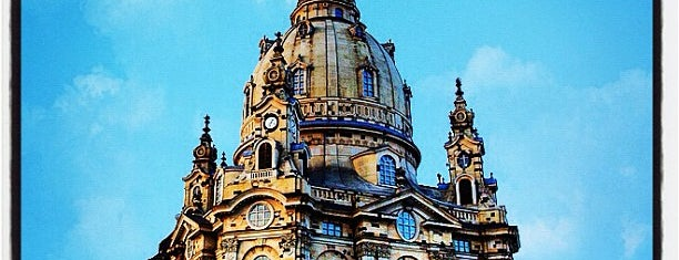 Église Notre-Dame de Dresde is one of 100 обекта - Германия.