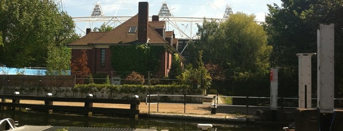 Old Ford Lock is one of Spring Famous London Story.