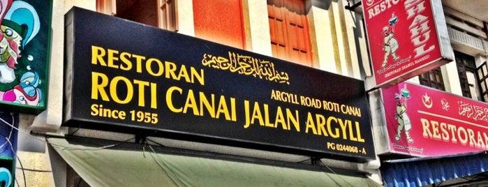 Roti Canai Jalan Argyll is one of Penang Baby!.