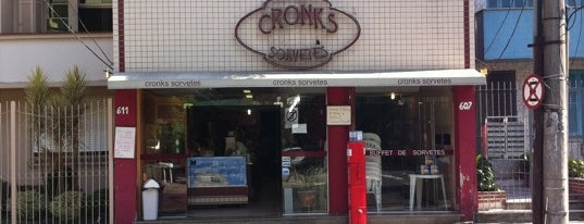 Cronks Sorvetes is one of Cafeterias em Porto Alegre.