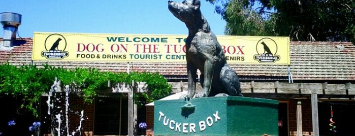 The Dog on the Tuckerbox is one of Big Things.
