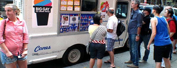 The Big Gay Ice Cream Truck is one of NYC_Foodie-Restos-Wine-Beer.