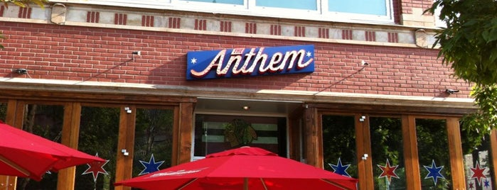 The Anthem is one of Restaurants to try.