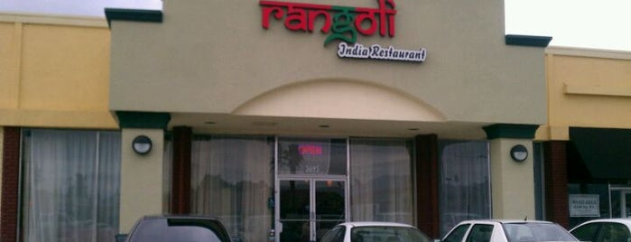 Rangoli India Restaurant is one of Dat 님이 저장한 장소.