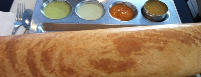 Saravanaa Bhavan is one of NY Vegetarian Favorites.