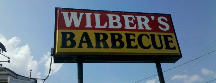 Wilber's Barbecue is one of Best Places to Check out in United States Pt 1.