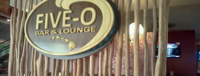 Five-O Bar & Lounge is one of Kelly : понравившиеся места.