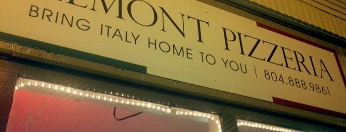 Belmont Pizzeria is one of RVA Restaurant Bucket List.