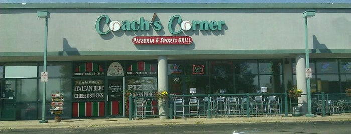 Coach's Corner is one of Official Blackhawks Bars.