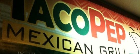 Taco Pep is one of สถานที่ที่ Diego ถูกใจ.