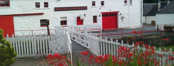 Edradour Distillery is one of J's Liked Places.