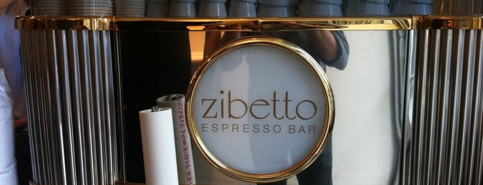 Zibetto Espresso Bar is one of Bakery/Coffee/Dessert.