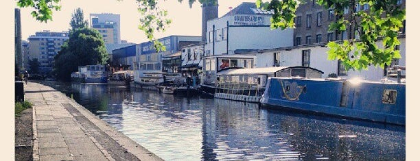 Regent's Canal is one of UK & Ireland.