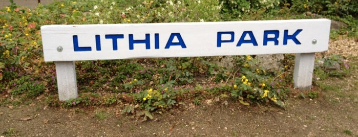 Lithia Park is one of Ashland!.