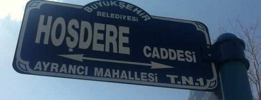 Hoşdere Caddesi is one of Elif Merveさんのお気に入りスポット.