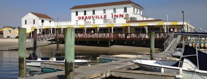 Deauville Inn is one of Foodie NJ Shore 1.