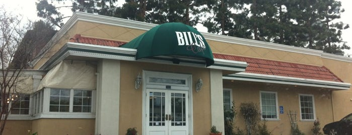 Bill's Cafe is one of California.