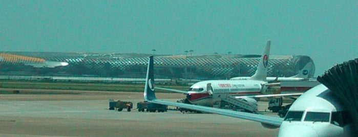 Shenzhen Bao'an International Airport (SZX) is one of AIRPORT.