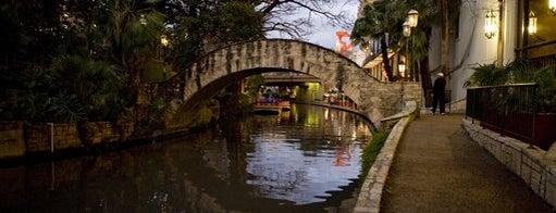 The San Antonio River Walk is one of San Antonio Campus Tour.