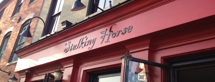 The Stalking Horse Tavern is one of To eat.