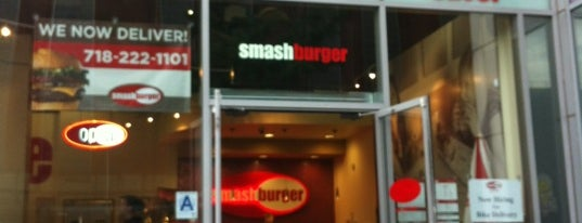 Smashburger is one of New York Eatables.