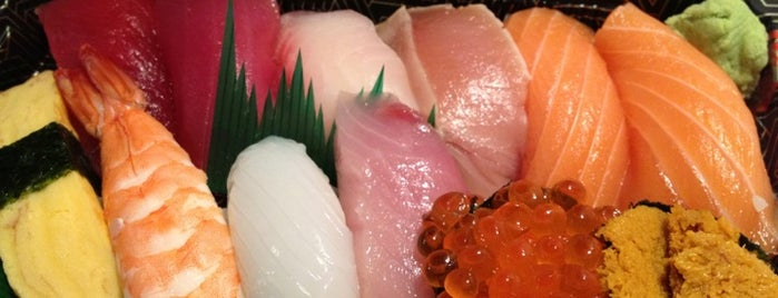 Sushi Mori-Zo is one of LA/SoCal.