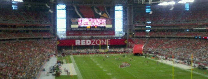 State Farm Stadium is one of Must Visit - Phoenix / Valley.