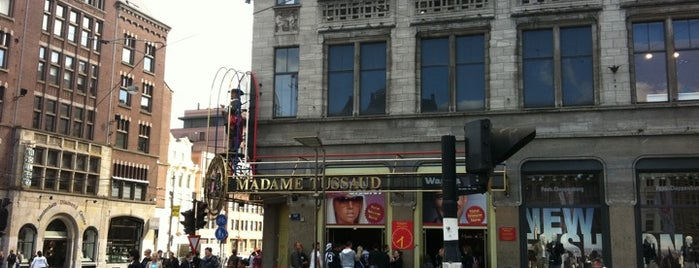 Madame Tussauds is one of All Museums in Amsterdam ❌❌❌.