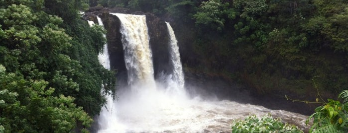 Rainbow Falls Park is one of Hilo Trip.