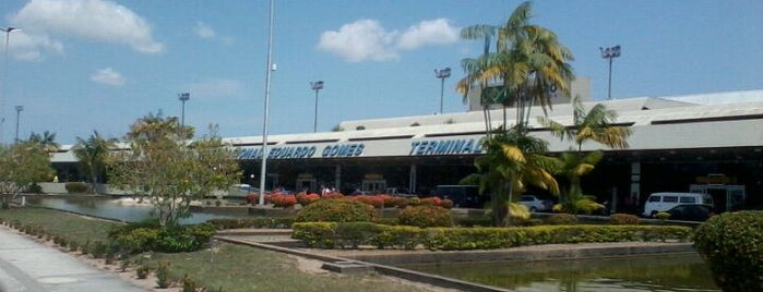 에두아르두 고메스 국제공항 (MAO) is one of Aeroportos.