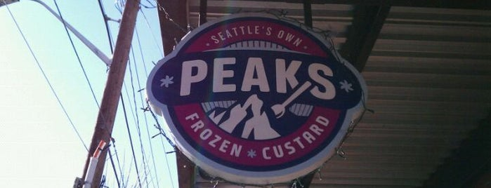 Peaks Frozen Custard is one of Tempat yang Disimpan My Tam.