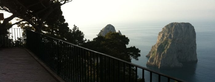 Punta Tragara is one of Capri, Napoli.