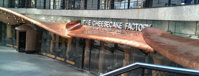 The Cheesecake Factory is one of #visitUS Chicago Tourist Must Check-into.