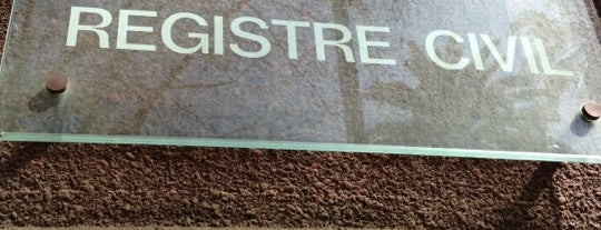 Registre Civil is one of Claudia : понравившиеся места.