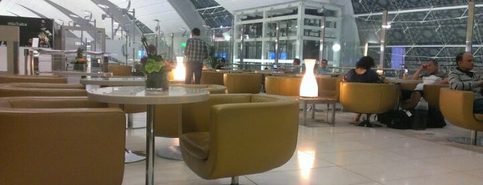 Marhaba Lounge is one of AIRPORTS world.
