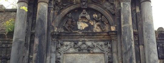 Greyfriars Kirkyard is one of Dead Famous People ☠.