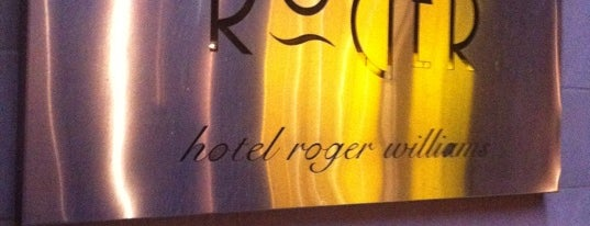 The Roger New York is one of Date Night.